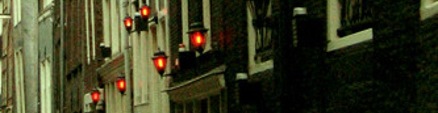 """Ночная жизнь Амстердама -""""Квартал Красных Фонарей"""""""