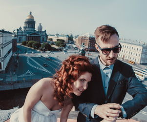 Roof top tour in St Petersburg