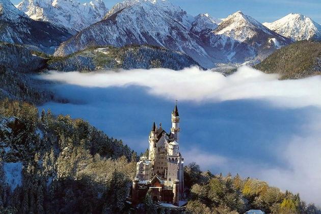 Экскурсия по замкам Баварии — Нойшванштайн, Хоэшвангау, Линдерхоф
