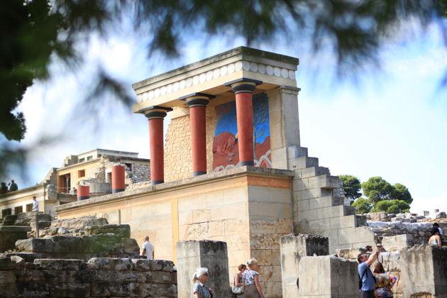 Кносский дворец - археологический музей