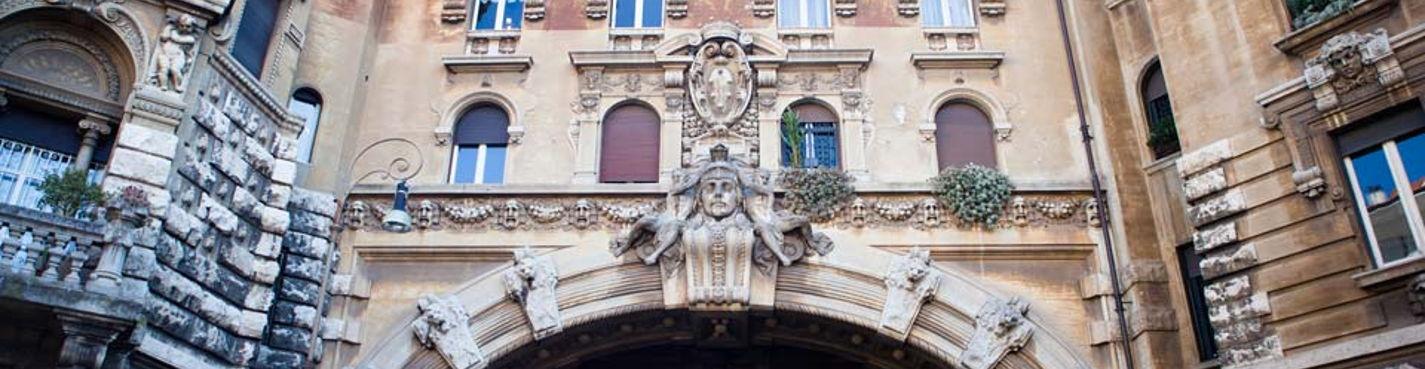 Рим сюрреалистический: квартала Коппеде