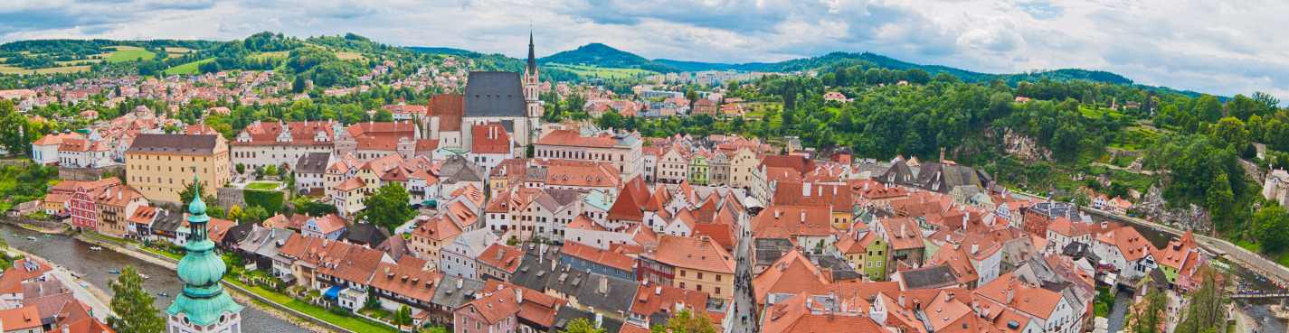 Чешский Крумлов и замок Глубока-над-Влтавой. Автобусно-пешеходная экскурсия