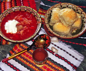 Borsch as a sacred dish of Ukrainian cuisine