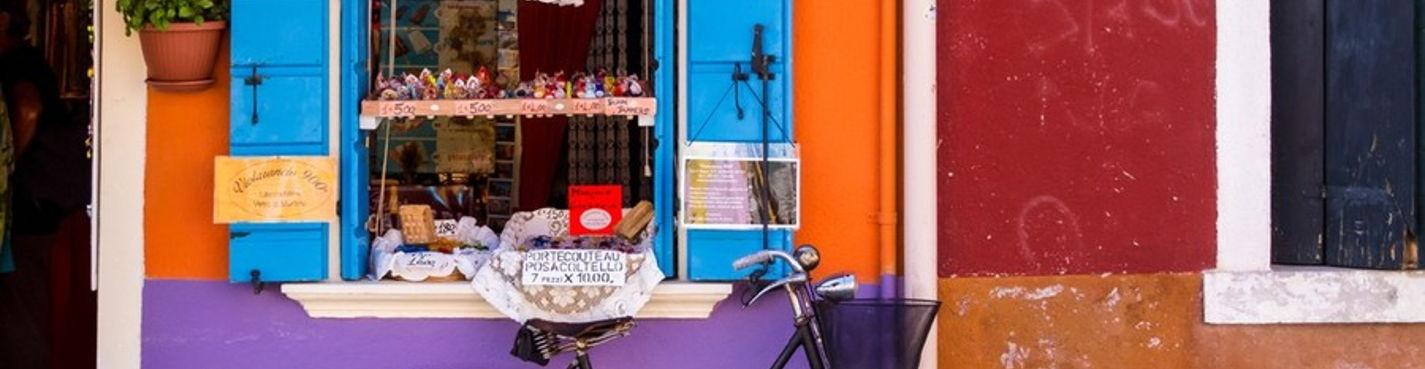 Мурано и Бурано — Венецианская радуга — экскурсия на катере или вапоретто  по Венецианской лагуне.