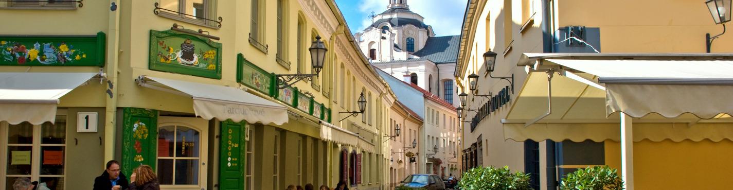 Вильнюс - город готики, барокко, классицизма
