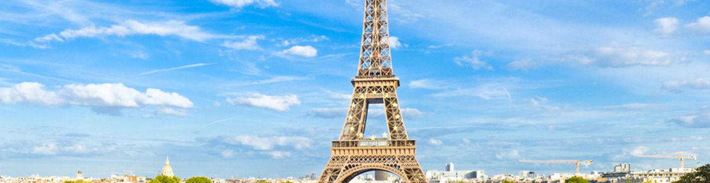 Обзорная экскурсия по Парижу (на автомобиле с водителем в сопровождении гида)