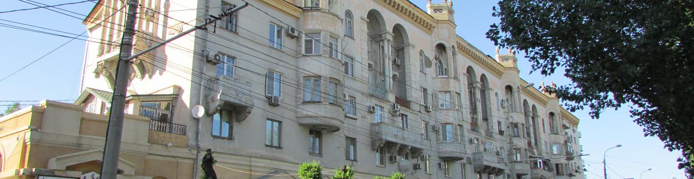 Pedestrian sightseeing tour of Volgograd