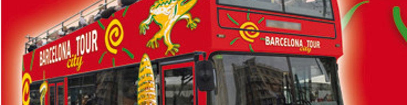 Двухэтажный автобус BARCELONA CITY TOUR 1 день