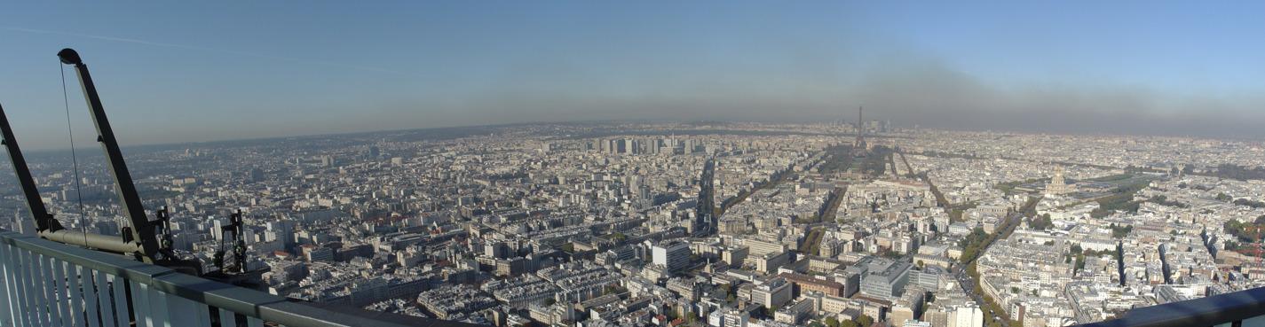 Билет на смотровую площадку башни Монпарнас