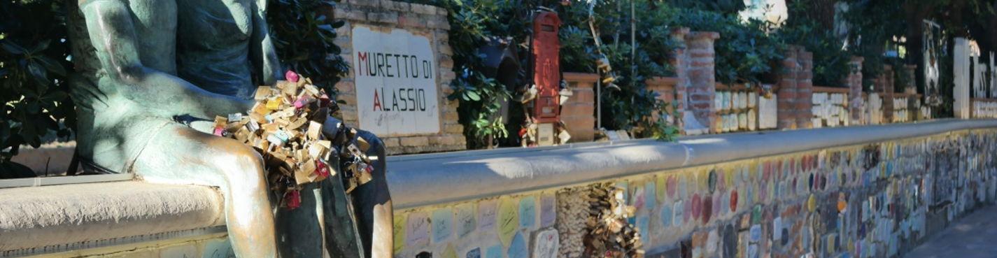 """Фото-экскурсия """"Алассио от А до Я"""""""