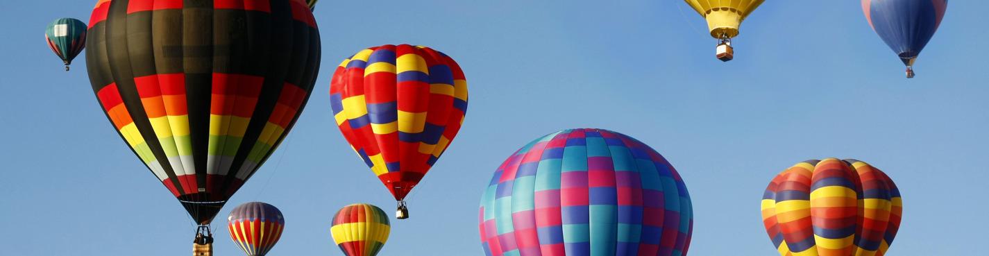 Полет на воздушном шаре (Марракеш, Пальмери)