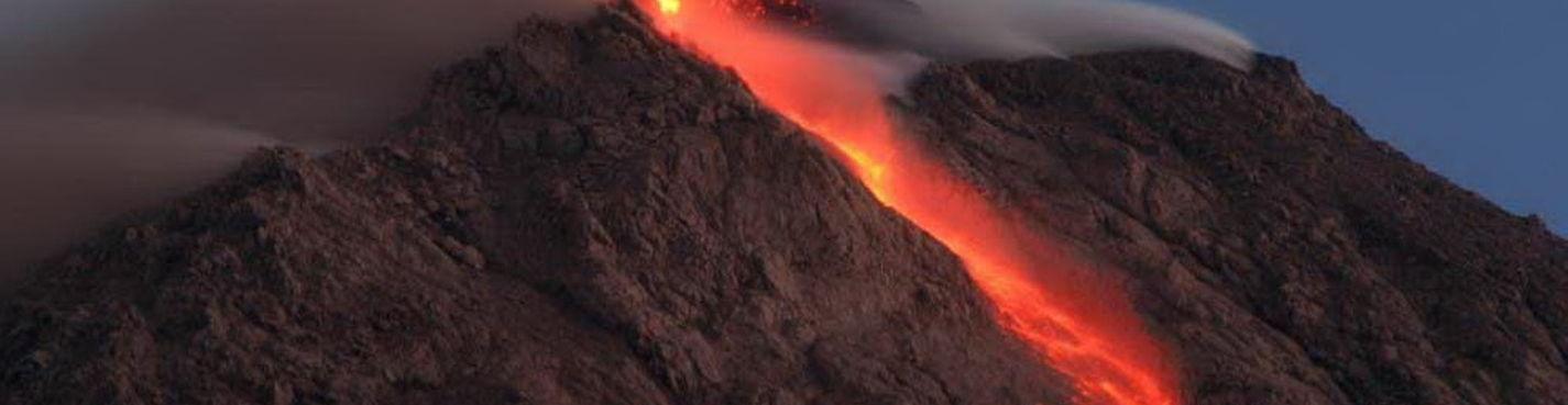 Ночное восхождение на вулкан Мерапи
