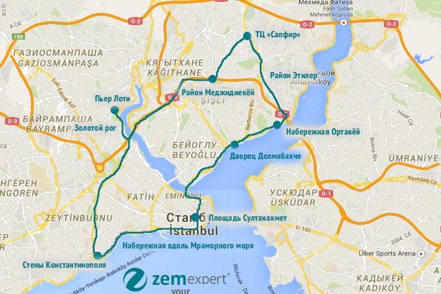 Экскурсия в Стамбуле:  Автобусный тур по Стамбулу
