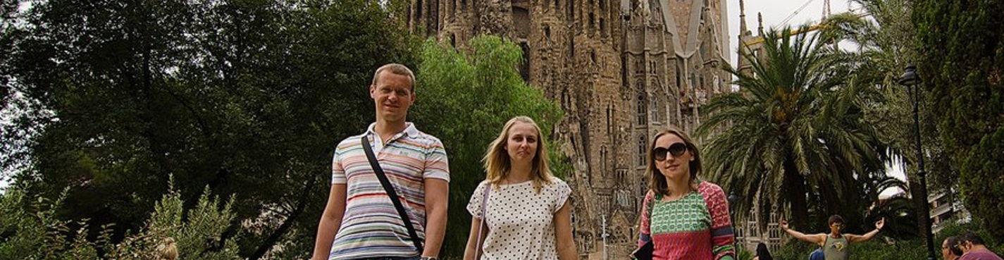 Услуги профессионального фотографа на экскурсиях / Фотосессия в Барселоне