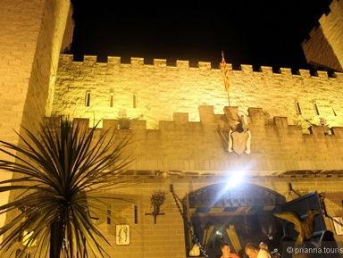 Рыцарский турнир в замке Valltordera и фламенко