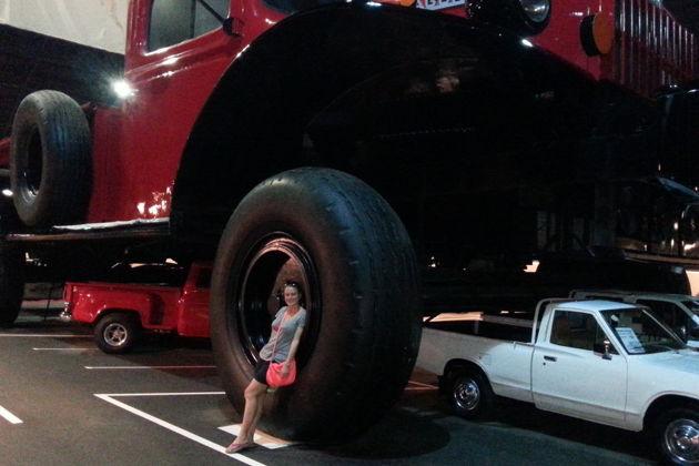 Экскурсия в национальный автомобильный музей.