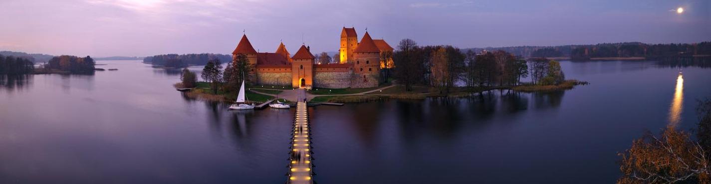 Вильнюс иТракай - современная и древняя столицы Литвы