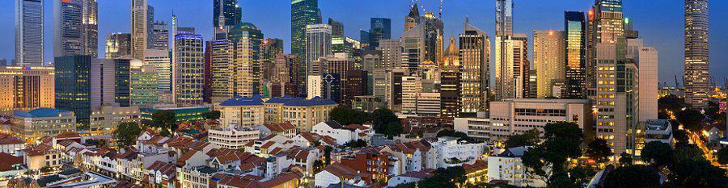 Архитектурный Сингапур
