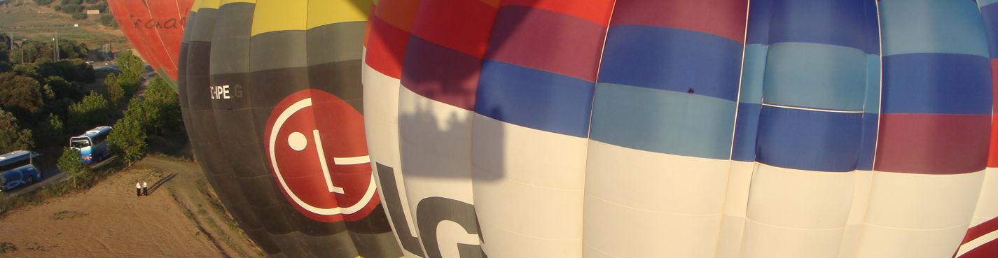 Полет на Воздушном шаре в небе Испании