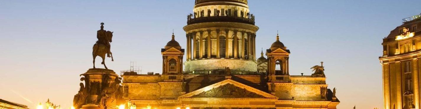 Saint Petersburg Informal city tour
