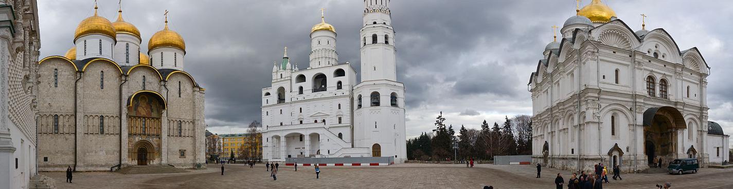 Сокровища Московского Кремля: территория Кремля и Оружейная палата