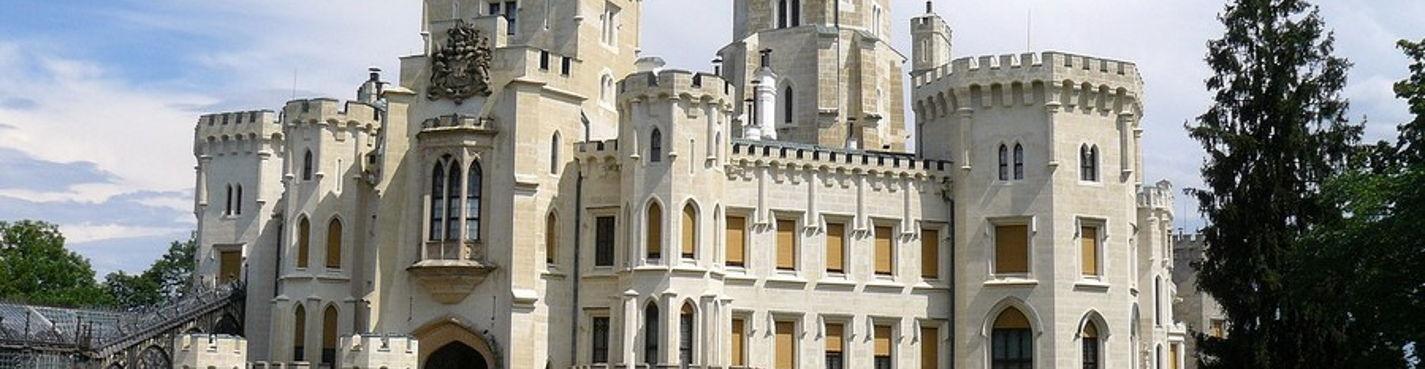 Атмосферный туризм. Поездка третья: замок Глубока над Влтавой, город Чешский Крумлов и замок Звиков.