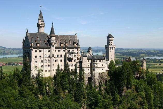 Экскурсия в Мюнхене: Билеты в замки короля Людвига
