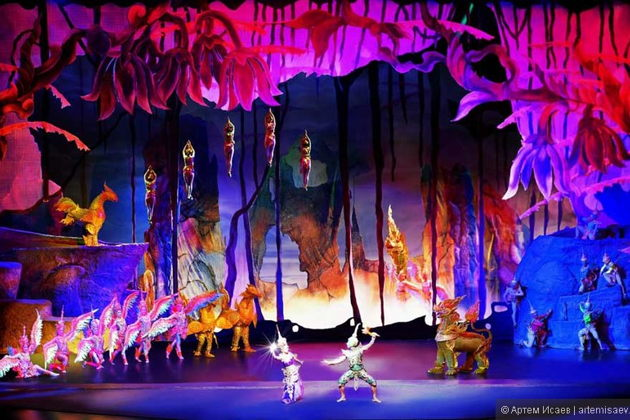 Экскурсия в Бангкоке: Феерическое шоу 'Сиам Нирамит' (Siam Niramit)