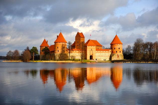 Экскурсия в Вильнюсе: Обзорная экскурсия по городу Тракай