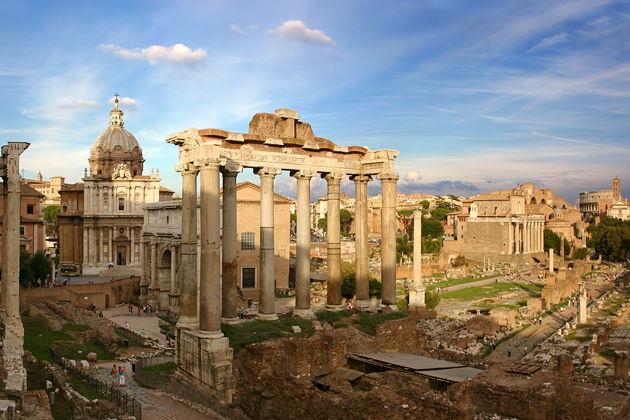Экскурсия в Риме: Обзорная экскурсия по Риму на двухэтажном автобусе