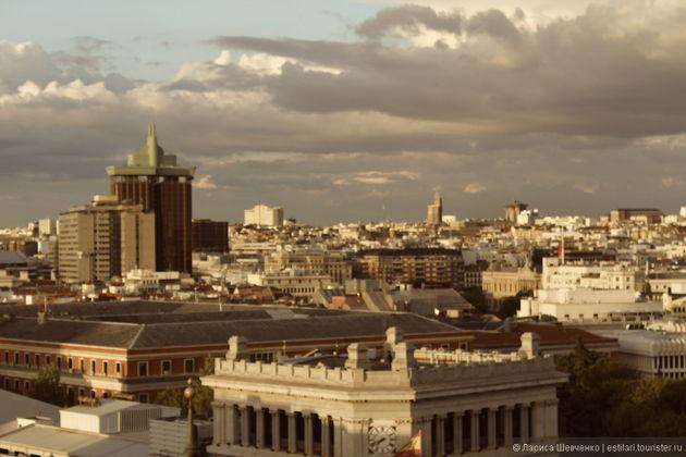 Экскурсия в Мадриде: Прогулка по Мадридским крышам