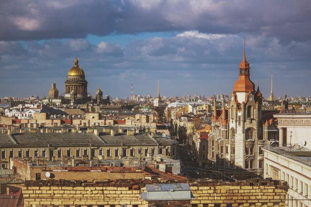 Экскурсия в Санкт-Петербурге: Экскурсия по крышам на Невском проспекте!