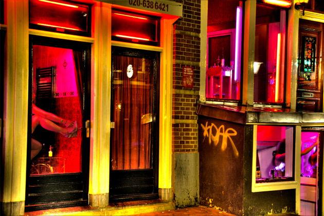 Экскурсия : Амстердам. Район Красных фонарей
