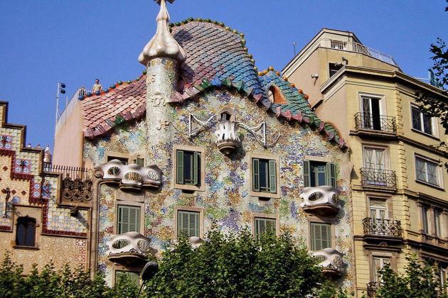 Экскурсия в Барселоне: Билеты без очереди в Дом Батльо  Антонио Гауди