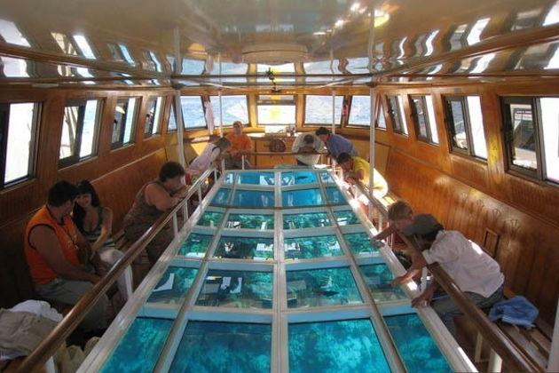 Экскурсия в Хургаде: Лодка с прозрачным дном из Хургады